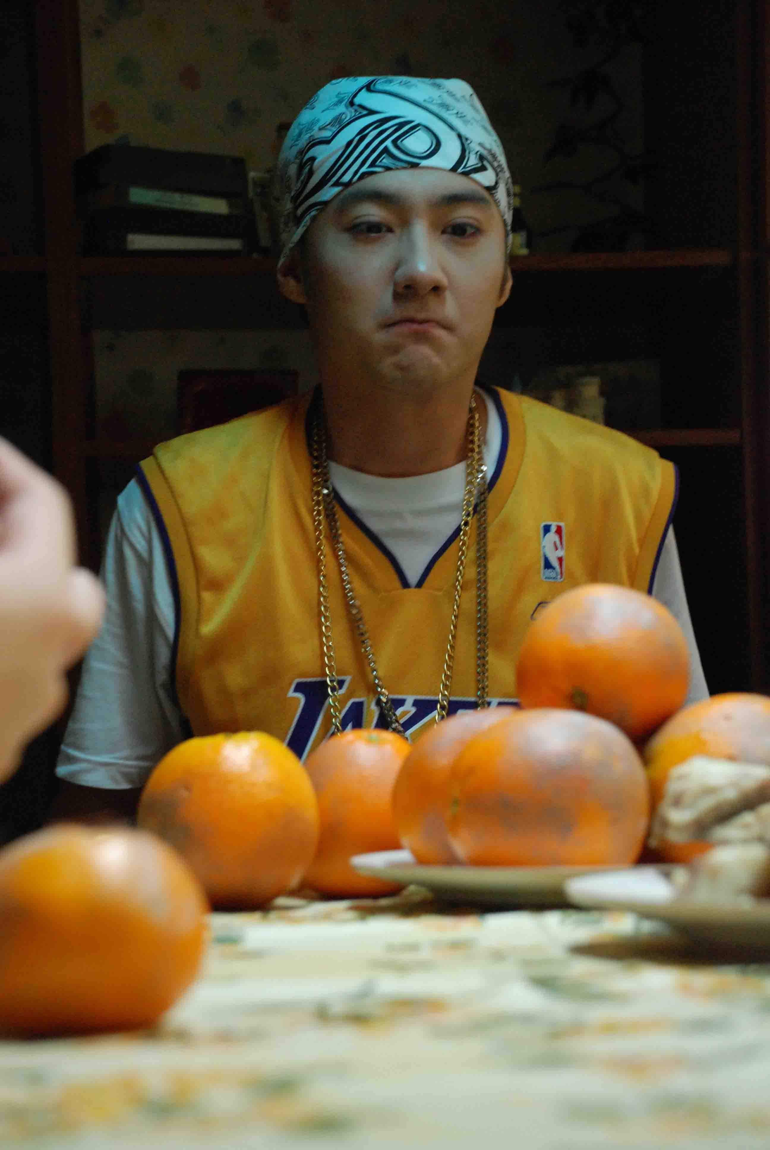 """""""Another orange and I'm gonna puke!"""""""